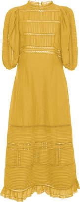 Sea Poppy Midi Dress