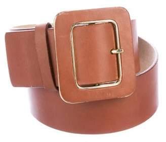 Oscar de la Renta Oscar by Leather Waist Belt