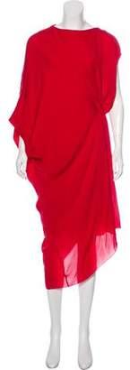 Maison Margiela Silk Knee-length Dress