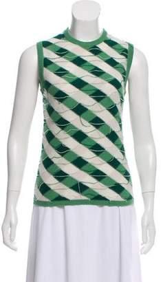 Thom Browne Patterned Knit Vest