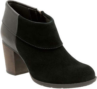 Clarks Enfield Canal Heeled Ankle Booties