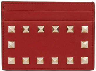 Valentino Red Garavani Rockstud Card Holder