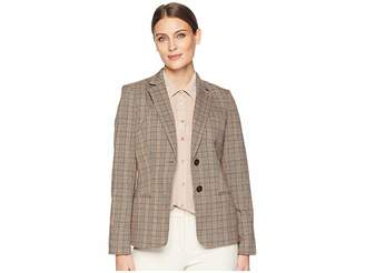 Tommy Hilfiger Plaid Jacket Women's Coat