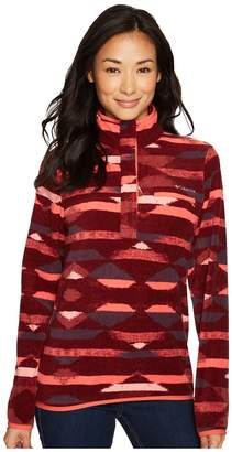 Columbia Mountain Side Printed Pullover Women's Long Sleeve Pullover