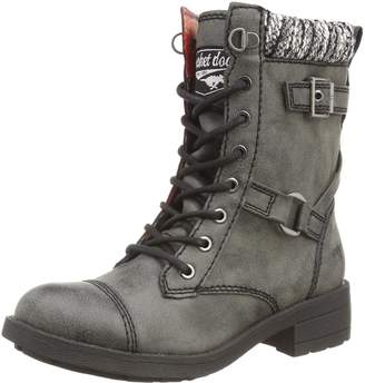 Rocket Dog Thunder Military Ankle Boots - Black, Brown, Tan