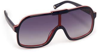 Henri Bendel Raegan Aviator Sunglasses