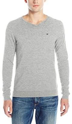 Tommy Hilfiger Men's Original V-Neck Long-Sleeve Sweater