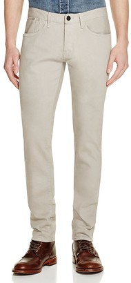 3x1 M5 Straight Fit Jeans in Beige $245 thestylecure.com