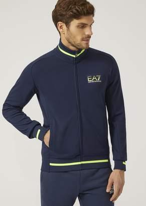 Emporio Armani Ea7 Sweatshirt In Jersey