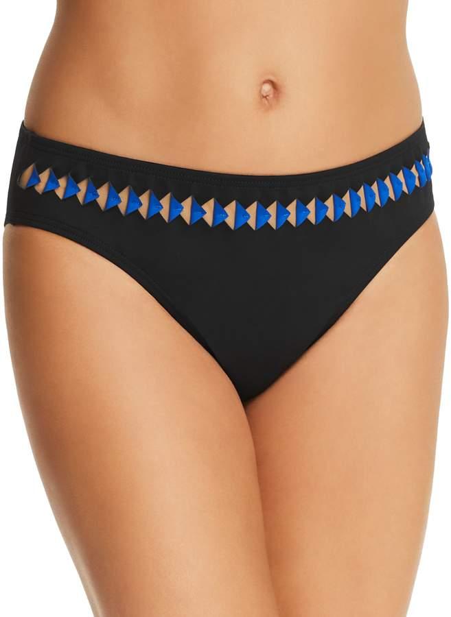 Triangle Trim Hipster Bikini Bottom