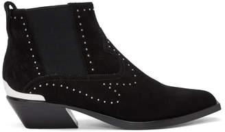 Rag & Bone Black Suede Westin Boots