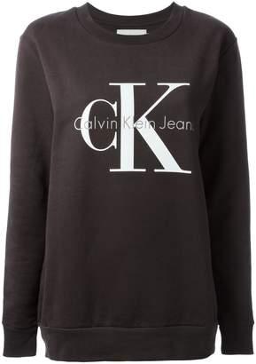CK Calvin Klein (CK カルバン クライン) - Ck Jeans ロゴプリント スウェットシャツ
