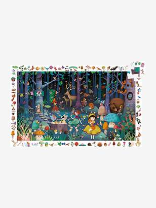 Vertbaudet 100-Piece Puzzle, The Enchanted Forest, by DJECO
