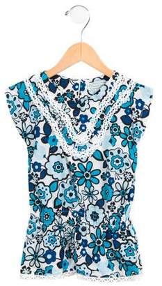Isabel Garreton Girls' Printed Sleeveless Dress w/ Tags