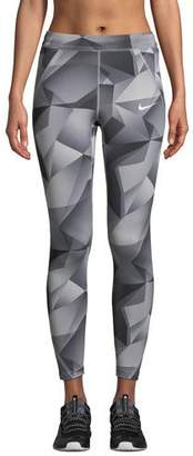 Nike Speed Printed 7/8 Running Tights