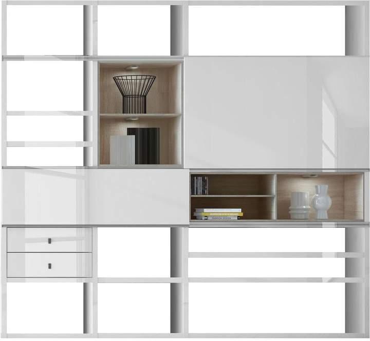 Fredriks EEK A+, XL Regalwand Emporior I.C