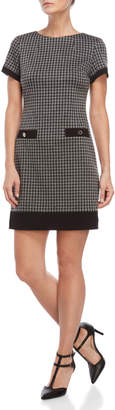 Tommy Hilfiger Houndstooth Mini Dress