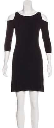 Bailey 44 Knit Cold-Shoulder Dress