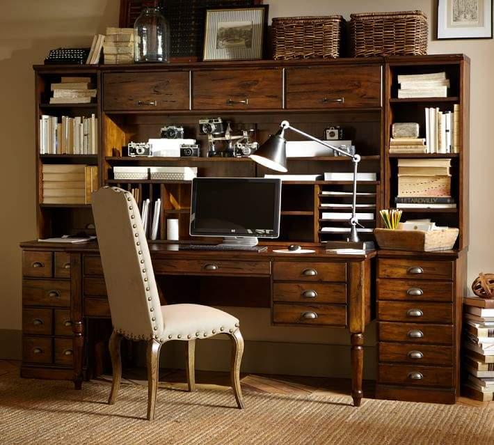 Printer's Office Suite, Tuscan Chestnut
