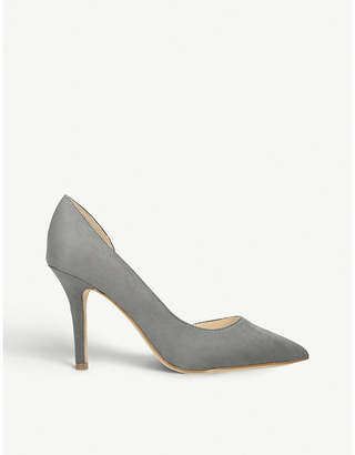 Nine West Just4You d'Orsay faux-leather court shoes