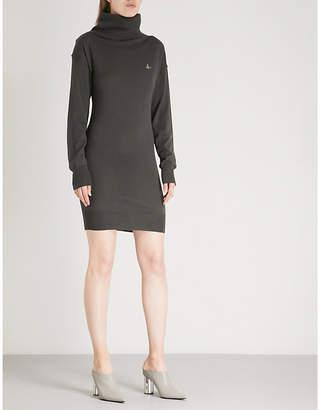 Vivienne Westwood Turtleneck wool dress