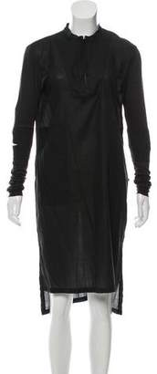 Damir Doma Long Sleeve Midi Dress