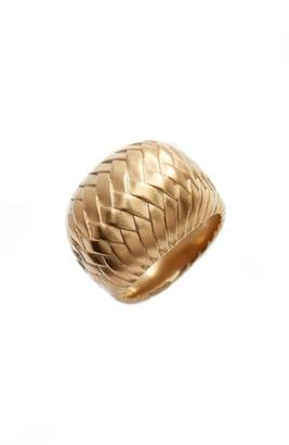 Vince Camuto Golden Woven Ring