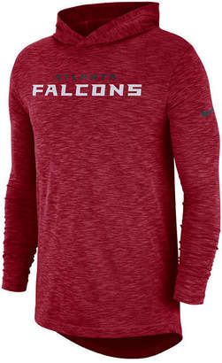 Nike Men's Atlanta Falcons Dri-Fit Cotton Slub On-Field Hooded T-Shirt
