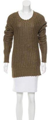 Belstaff Oversize Linen Sweater $145 thestylecure.com