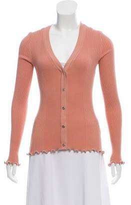 Alexander Wang Embellished Button-Up Sweater
