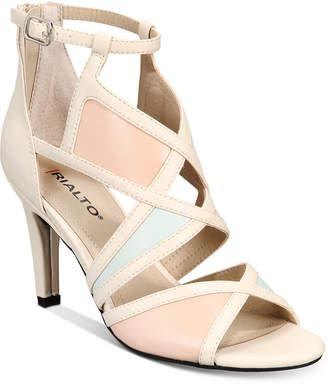 Rialto Ria Colorblocked Dress Sandals Women Shoes
