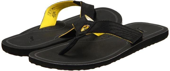 Puma Surfrider Ferrari (Black) - Footwear