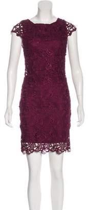 Alice + Olivia Short Sleeve Lace Dress