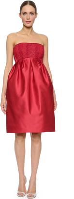 Zac Posen Strapless Dress $4,990 thestylecure.com