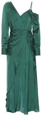 Self-Portrait Jacquard dress
