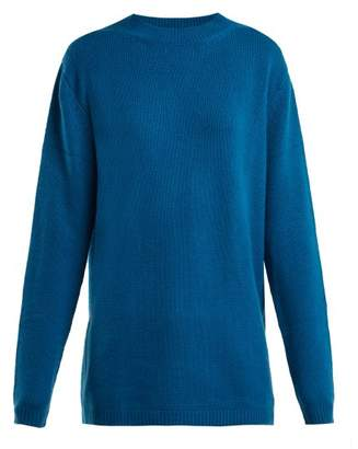 Raey - Loose Fit Cashmere Sweater - Womens - Blue