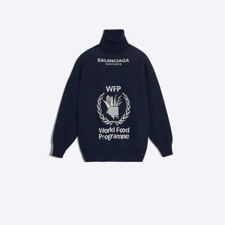 Balenciaga Virgin wool World Food Programme turtleneck sweater