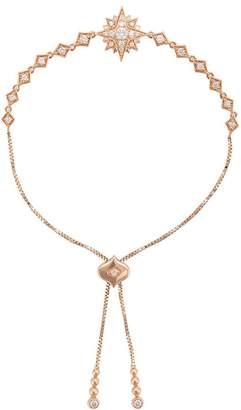 Sara Weinstock 18kt rose gold Isadora Starburst Bolo diamond bracelet