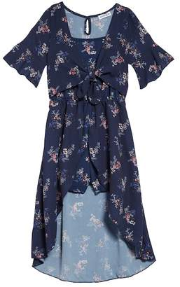 Ten Sixty Sherman Floral Walk Through Romper (Big Girls)
