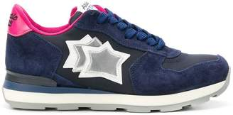 Atlantic Stars star embroidered sneakers