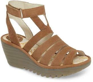 Fly London Yeba Wedge Sandal