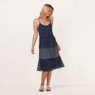Women's LC Lauren Conrad Tiered Shift Dress $68 thestylecure.com