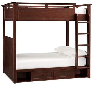 Hampton Bunk Bed Full Dark Espresso