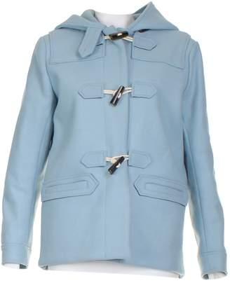 MAISON KITSUNÉ Blue Wool Coats