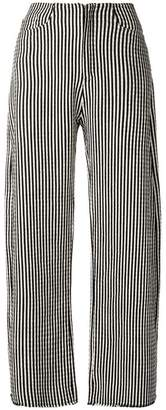 Marques Almeida Marques'almeida striped palazzo trousers