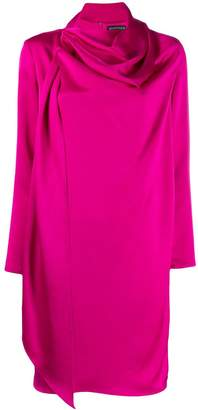 Gianluca Capannolo draped neck dress