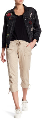 Union Bay Camilia Crop Cargo Pant (Juniors) $40 thestylecure.com