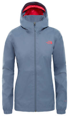 The North Face Quest Waterproof Women's Jacket, Grisaille Grey