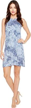 Karen Kane Women's Tie Dye Halter Dress