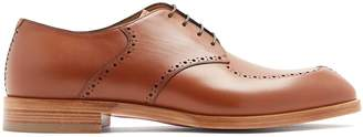 Christian Louboutin A Mon Homme leather derby shoes